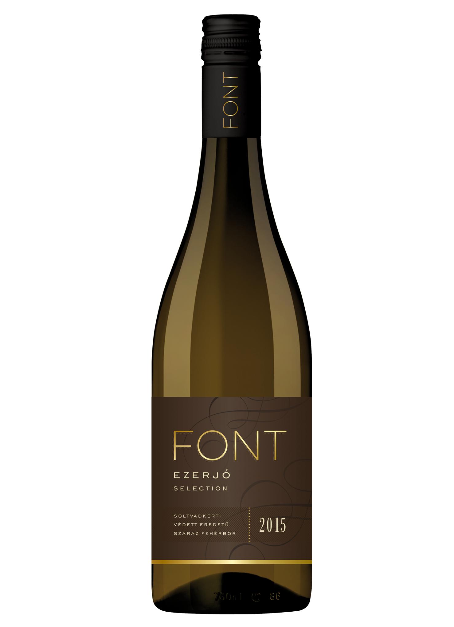 Ezerjó Selection bor 0,75 l (2015)
